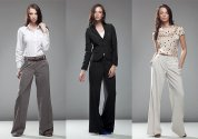 Moda damska, spodnie, garnitur